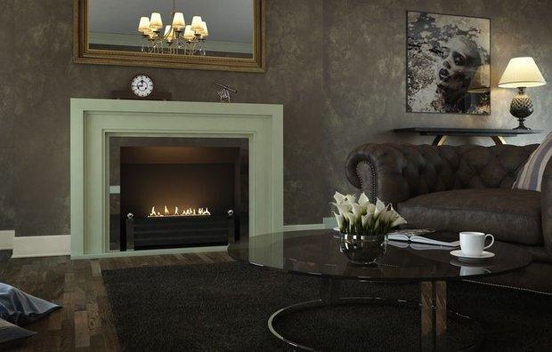 Фотография: Гостиная в стиле Классический, Квартира, Дома и квартиры – фото на INMYROOM