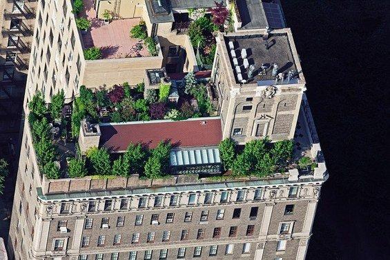 Фотография: Спальня в стиле Современный, Дома и квартиры, Городские места, Нью-Йорк – фото на INMYROOM