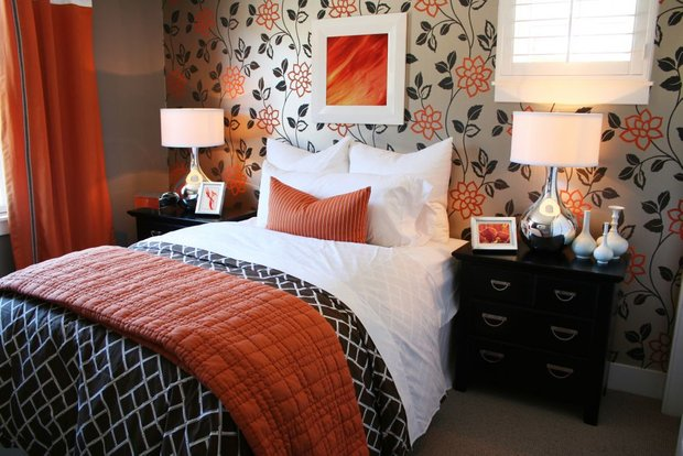 Фотография: Спальня в стиле Современный, Декор интерьера, Мебель и свет, Цвет в интерьере, Советы, Светильник – фото на INMYROOM
