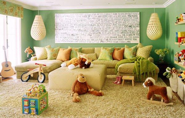 Фотография: Детская в стиле Современный, Декор интерьера, Дизайн интерьера, Цвет в интерьере – фото на INMYROOM