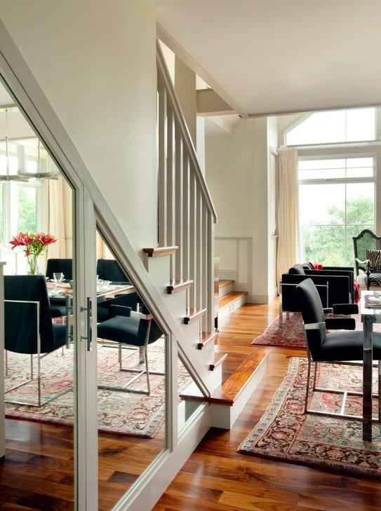 Фотография: Прихожая в стиле Скандинавский, Советы, Гид, Дом и дача, ниша под лестницей – фото на INMYROOM