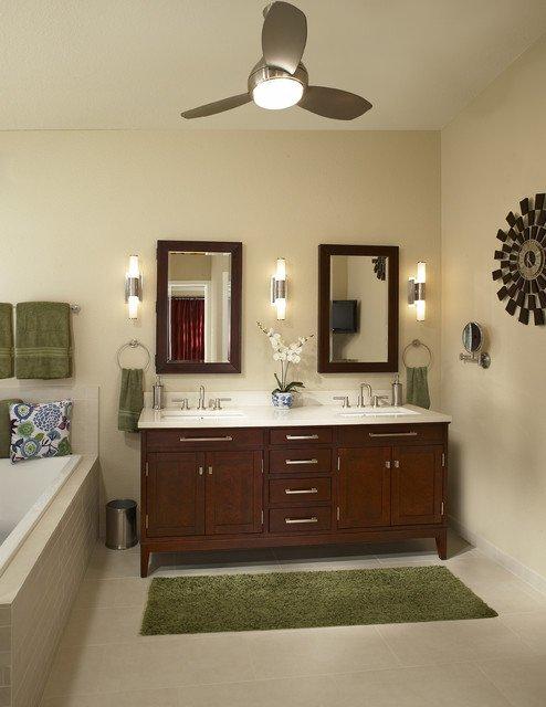 Фотография: Ванная в стиле Прованс и Кантри, Декор интерьера, Мебель и свет – фото на INMYROOM