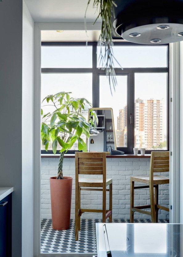 Фотография: Балкон в стиле Современный, Декор интерьера, Кашпо, живые растения в интерьере, Как выбрать кашпо, Светлана Давыдова – фото на INMYROOM