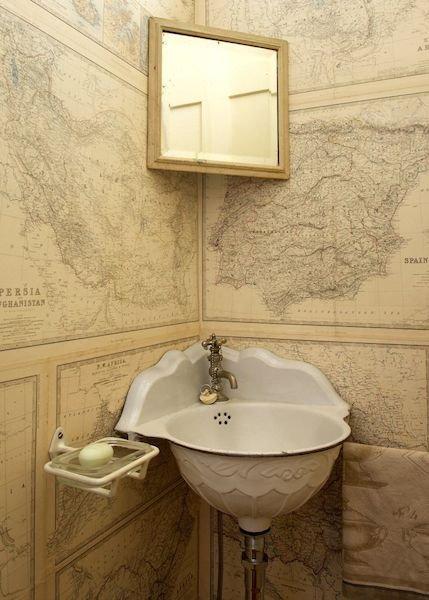 Фотография: Ванная в стиле Прованс и Кантри, Эклектика, Интерьер комнат – фото на INMYROOM