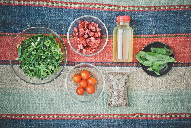 Фотография:  в стиле , Обед, Ужин, Основное блюдо, Тушение, Жарить, Кулинарные рецепты, 30 минут – фото на INMYROOM