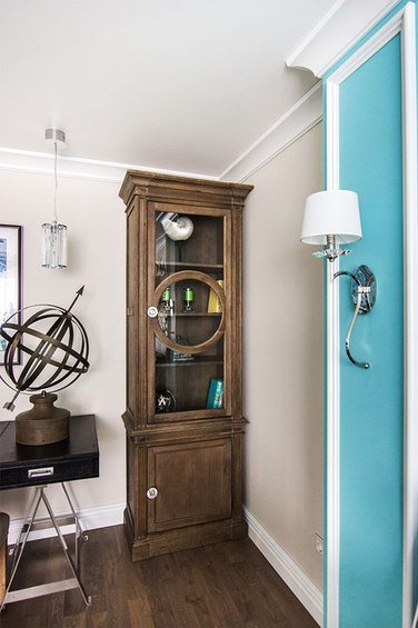 Фотография: Кабинет в стиле Прованс и Кантри, Гостиная, Декор интерьера, Интерьер комнат – фото на INMYROOM