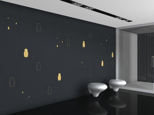 Фотография: Ванная в стиле Современный, Квартира, Дома и квартиры, Международная Школа Дизайна – фото на INMYROOM
