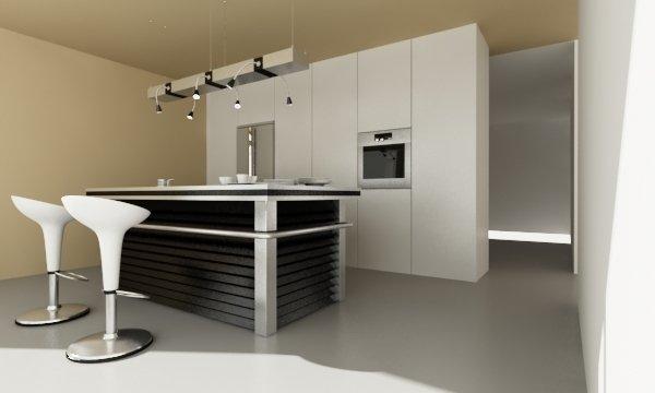 Фотография: Кухня и столовая в стиле Минимализм, Дом, Дома и квартиры, Архитектурные объекты – фото на INMYROOM