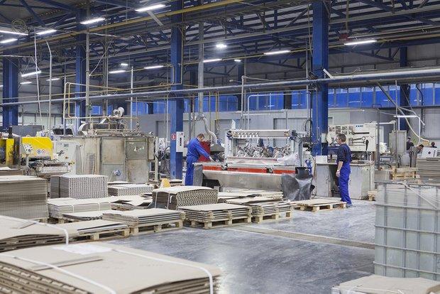 Производство керамической плитки на заводе Kerama Marazzi в Орле