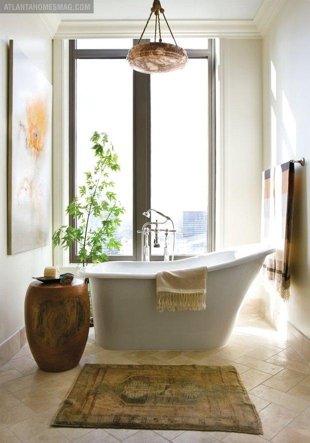 Фотография: Прочее в стиле Скандинавский, Ванная, Интерьер комнат, Ванна – фото на INMYROOM