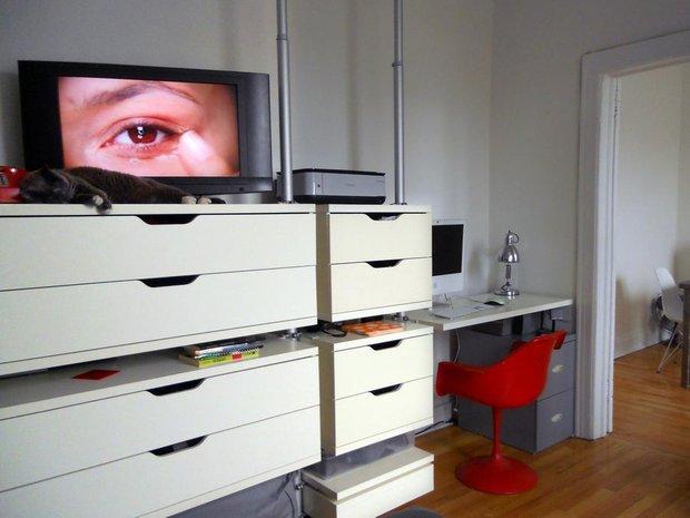 Фотография:  в стиле Скандинавский, Малогабаритная квартира, Квартира, Дома и квартиры, IKEA – фото на INMYROOM