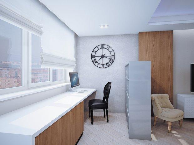 Фотография: Гостиная в стиле Лофт, Современный, Классический, Квартира, Планировки, Мебель и свет, Проект недели – фото на InMyRoom.ru