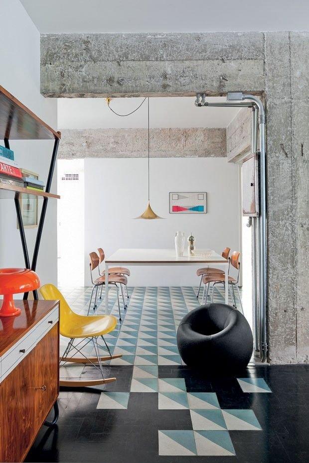 Фотография: Кухня и столовая в стиле Лофт, Декор интерьера, Декор дома, Плитка, Ремонт на практике – фото на INMYROOM