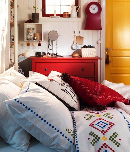 Фотография: Спальня в стиле Прованс и Кантри, Интерьер комнат, IKEA – фото на INMYROOM