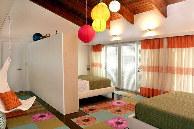Фотография: Спальня в стиле Современный, Прихожая, Интерьер комнат – фото на INMYROOM