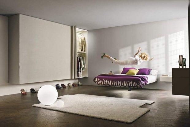 Фотография: Спальня в стиле Современный, Декор интерьера, Малогабаритная квартира, Мебель и свет, Готический – фото на InMyRoom.ru