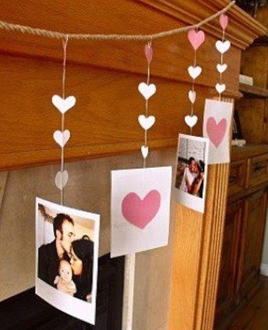 Фотография: Гостиная в стиле Классический, Декор интерьера, DIY, Праздник, День святого Валентина – фото на InMyRoom.ru