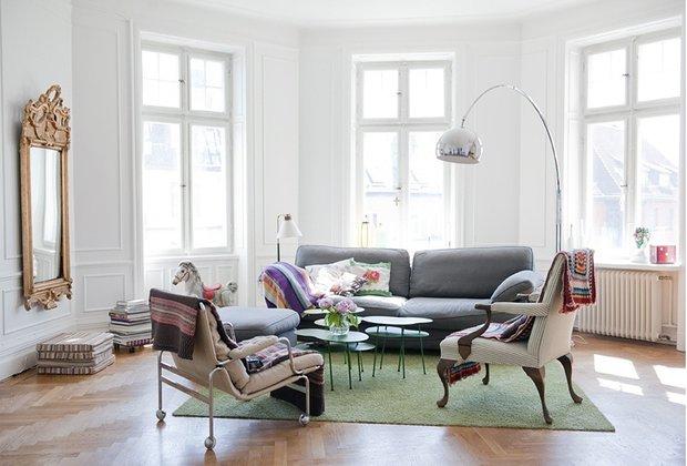 Фотография: Гостиная в стиле Эклектика, Лофт, Декор интерьера, Швеция, Декор дома, Советы, Шебби-шик – фото на INMYROOM