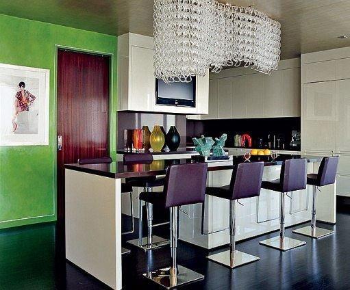 Фотография: Кухня и столовая в стиле Современный, Хай-тек, Декор интерьера, Мебель и свет – фото на INMYROOM