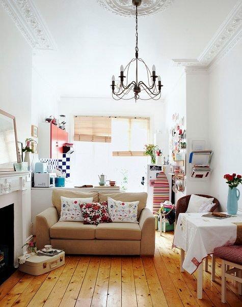 Фотография: Гостиная в стиле Скандинавский,  – фото на INMYROOM