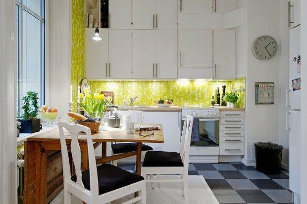 Фотография: Кухня и столовая в стиле Современный, Скандинавский, Дизайн интерьера, Советы – фото на INMYROOM