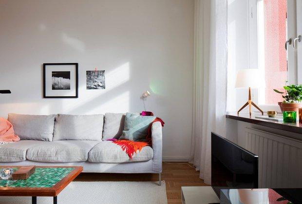Фотография: Гостиная в стиле Скандинавский, Современный, Декор интерьера, Квартира, Дома и квартиры – фото на INMYROOM