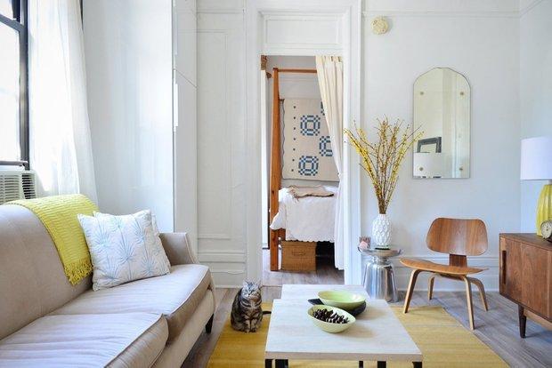Фотография: Гостиная в стиле Скандинавский, Декор интерьера, Квартира, Советы – фото на INMYROOM