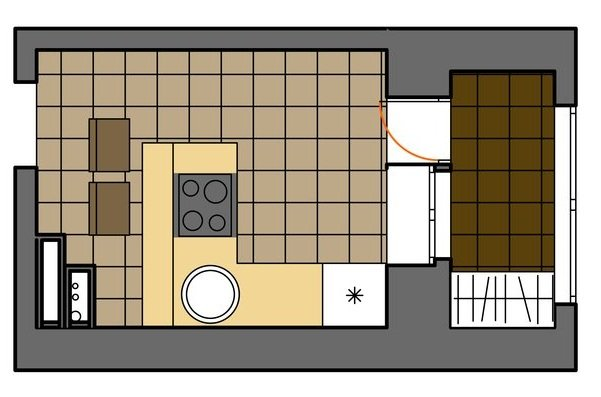 Фотография: Прочее в стиле , Малогабаритная квартира, Дома и квартиры – фото на INMYROOM