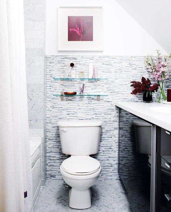 Фотография: Ванная в стиле Современный, Декор интерьера, Квартира, Дом, Цвет в интерьере, Стиль жизни, Советы – фото на INMYROOM
