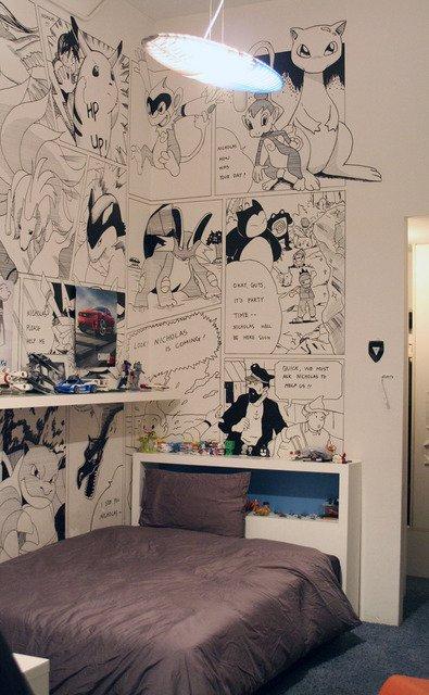 Фотография: Спальня в стиле Современный, Детская, Интерьер комнат, Проект недели – фото на INMYROOM