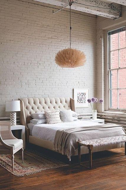 Фотография: Спальня в стиле Лофт, Скандинавский, Советы, Белый – фото на INMYROOM
