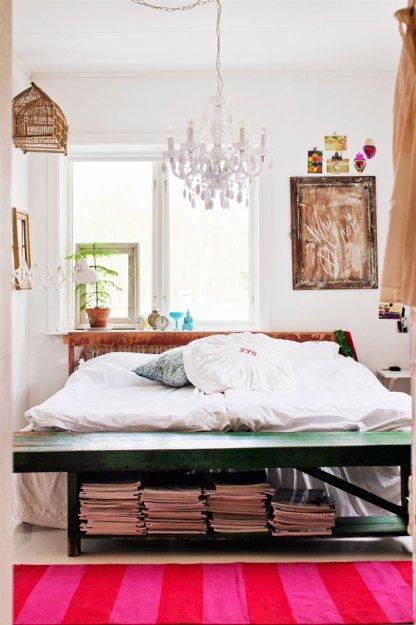 Фотография: Спальня в стиле Скандинавский, Дом, Швеция, Дома и квартиры – фото на INMYROOM