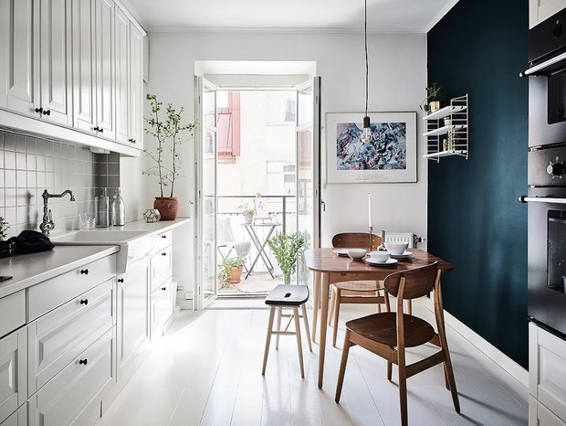 Фотография: Кухня и столовая в стиле Скандинавский, Квартира, Советы – фото на INMYROOM
