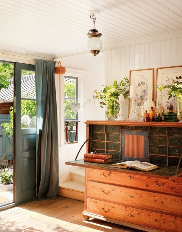 Фотография: Прихожая в стиле Прованс и Кантри, Скандинавский, Дом, Дома и квартиры, IKEA, Дача – фото на INMYROOM
