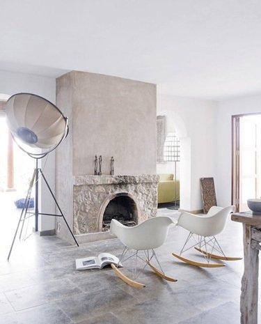 Фотография: Гостиная в стиле Скандинавский, Декор интерьера, Декор дома, Плитка – фото на INMYROOM