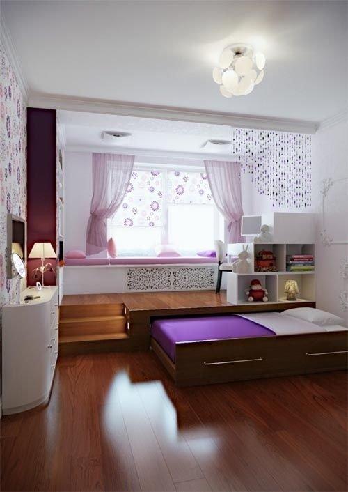 Фотография: Детская в стиле Современный, Советы, Бежевый, Серый, Мебель-трансформер, кровать-трансформер, диван-кровать – фото на INMYROOM