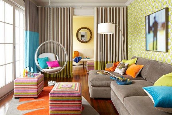 Фотография: Гостиная в стиле Эклектика, Детская, Интерьер комнат, Декор – фото на INMYROOM