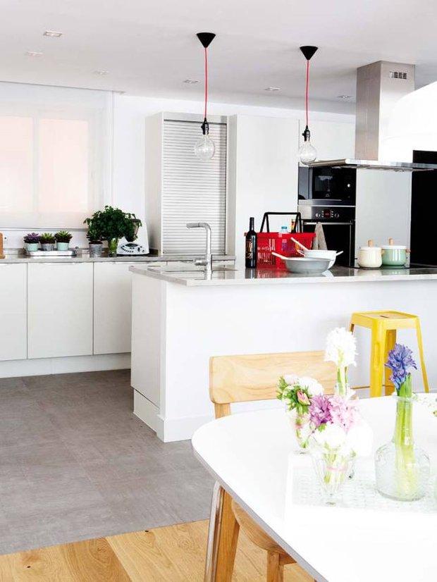 Фотография: Кухня и столовая в стиле Скандинавский, Эклектика,  – фото на INMYROOM