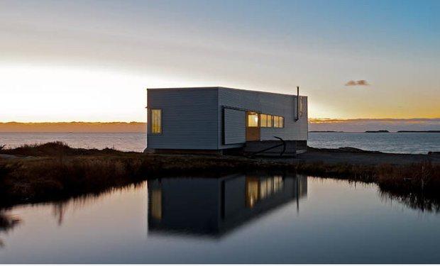 Фотография:  в стиле , Дом, Архитектура, Ландшафт, Минимализм, Эко – фото на INMYROOM