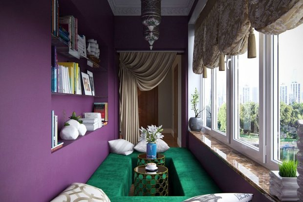 Фотография: Балкон в стиле Восточный, Декор интерьера, Советы – фото на INMYROOM