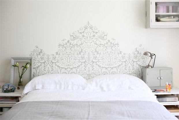 Фотография: Спальня в стиле Современный, Декор интерьера, DIY, Обои – фото на INMYROOM