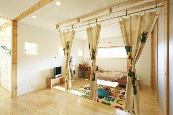 Фотография: Детская в стиле Эко, Дом, Дома и квартиры, Япония – фото на INMYROOM