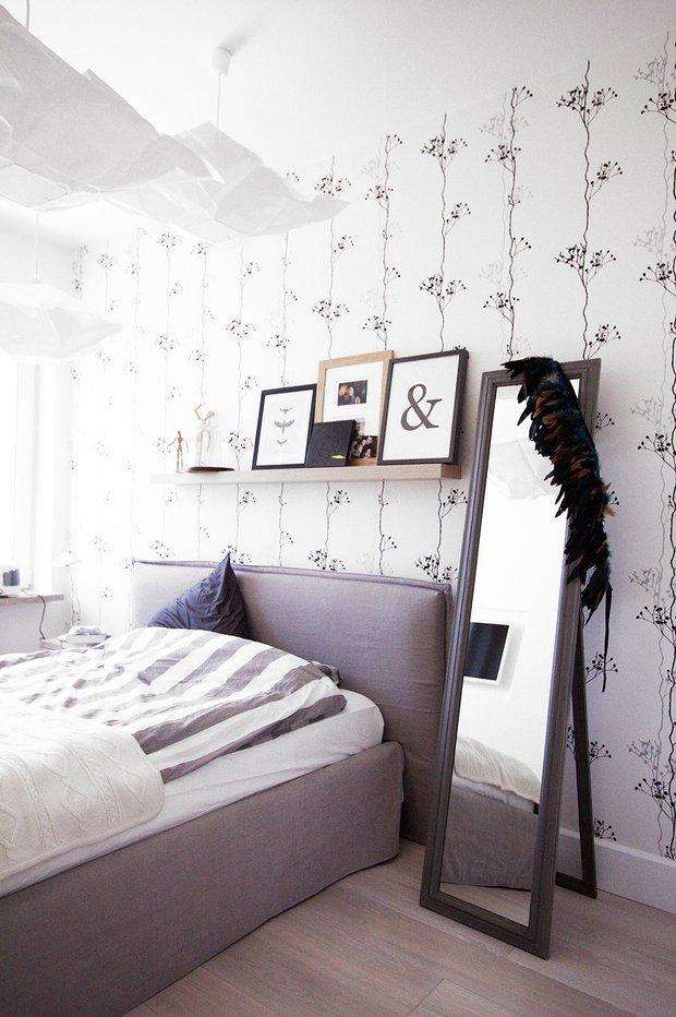 Фотография: Спальня в стиле Скандинавский, Современный, Аксессуары, Мебель и свет, Советы, Ремонт на практике – фото на INMYROOM
