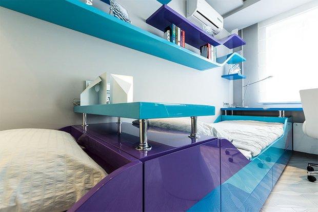 Фотография: Спальня в стиле Современный, Детская, Декор интерьера, Интерьер комнат – фото на InMyRoom.ru