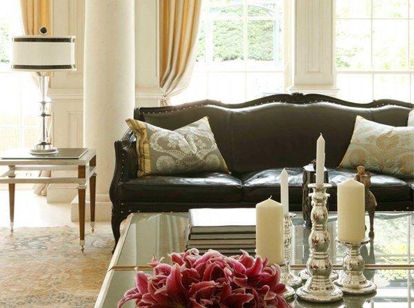 Фотография: Гостиная в стиле Классический, Декор интерьера, Мебель и свет – фото на INMYROOM