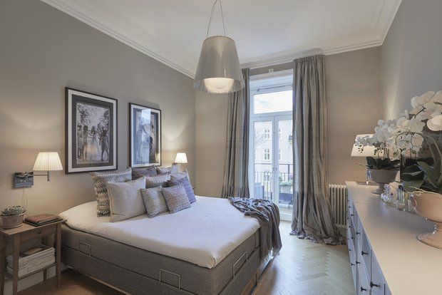 Фотография: Спальня в стиле Классический, Современный, Декор интерьера, Квартира, 4 и больше, Более 90 метров – фото на INMYROOM