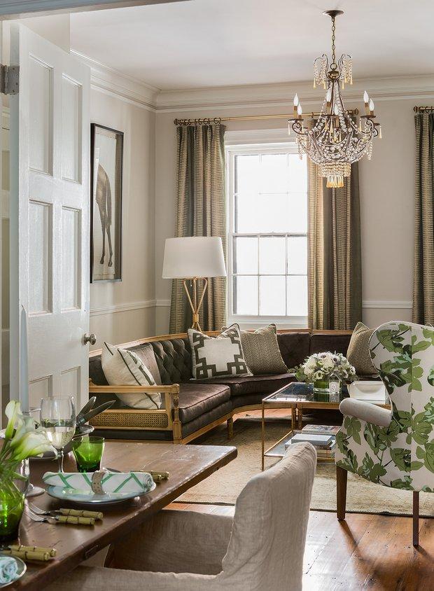 Фотография: Гостиная в стиле Классический, Декор интерьера, Дом и дача, Таунхаус – фото на INMYROOM