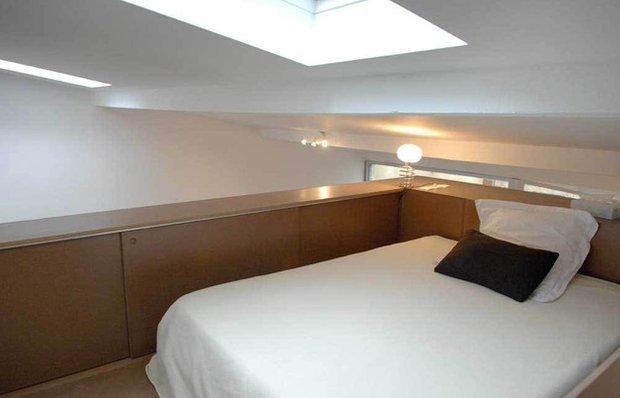 Фотография: Спальня в стиле Лофт, DIY, Дом, Дома и квартиры, Переделка – фото на INMYROOM