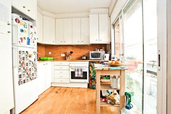 Фотография: Кухня и столовая в стиле Современный, Квартира, Дома и квартиры, Барселона – фото на InMyRoom.ru