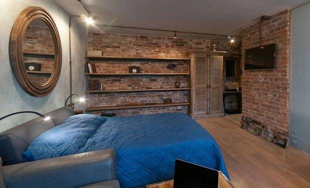 Фотография: Спальня в стиле Лофт, Декор интерьера, Малогабаритная квартира, Квартира, Дом, Декор – фото на INMYROOM